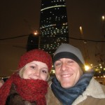 Katya & Me at Moscow City